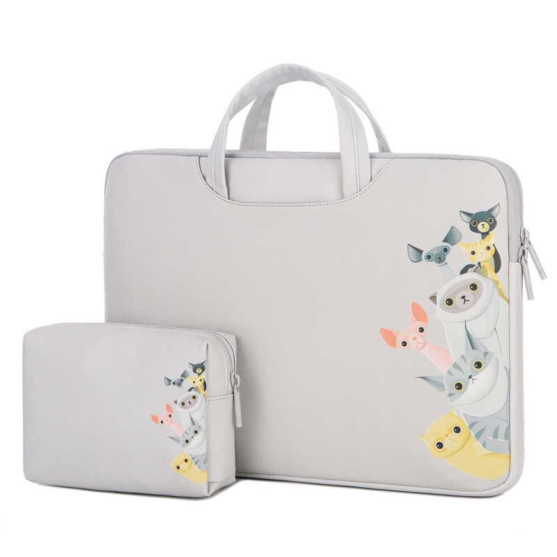 Женские сумки для ноутбука PU портативный чехол для Macbook AIr Dell HUAWEI 13 15 дюймов Сумка для ноутбука водонепроницаемая сумка для мыши