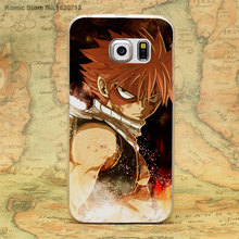 Fairy Tail Logo Transparent Clear Hard Cover for Samsung Galaxy