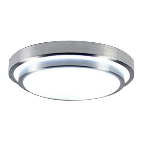 110V  12W Aluminum Circular LED Ceiling light
