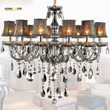 Large modern chandeliers indoor home lighting Kitchen Bedroom Dining room Chandelier Lustre de sala Modern K9 crystal chandelier все цены