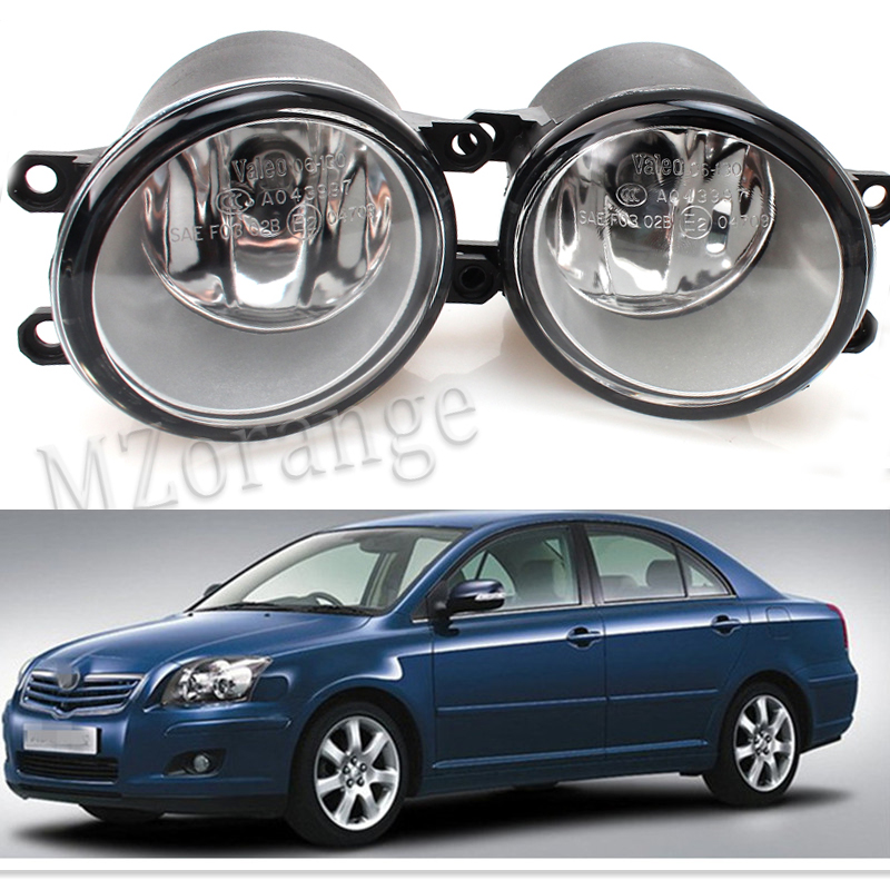 For Toyota AVENSIS 2003 2004 2005 2006 2007 2008 2009 Car Styling Fog Lights Original 1 Set (Left + right) 81210-06052 Fog Lamps 2 pcs set car styling front bumper light fog lamps for toyota venza 2009 10 11 12 13 14 81210 06052 left right