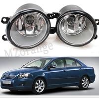 For Toyota AVENSIS 2003 2009 Car Styling Fog Lights Original 1 Set Left Right 81210 06052
