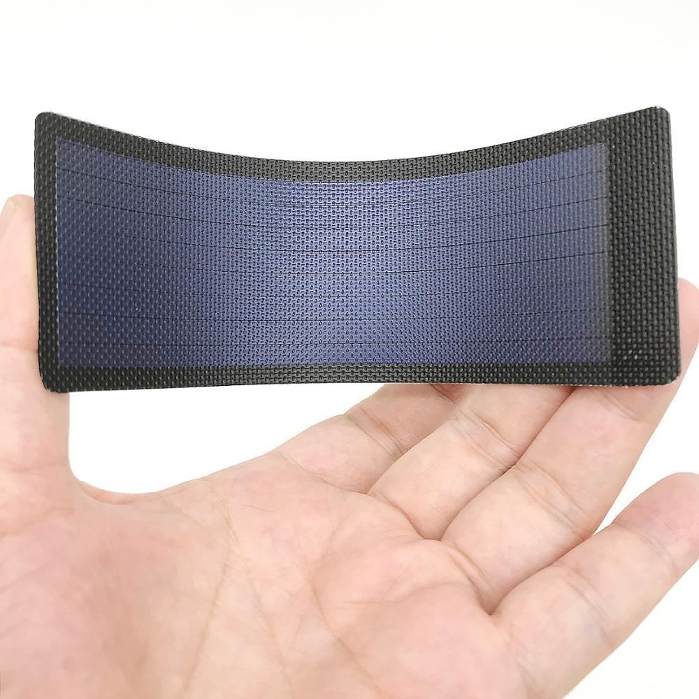 Petite cellule de panneau solaire à couche mince petite batterie flexible Ogniwa Fotowoltaiczne enfants Science Placa Fotovoltaica panneau 0.3W1.5V