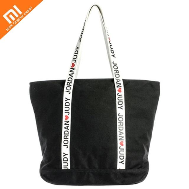 Original xiaomi mijia canvas bag female students large-capacity package simple fashion Japanese and Korean style portable shoppi