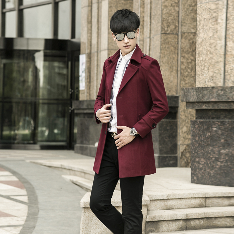 Herrenbekleidung & Zubehör New Winter Wollmantel Blazer Männer Einreiher Mode Lässig Hohe Qualität Super Große Plus Größe S-3xl4xl5xl6xl7xl8xl9xl10xl