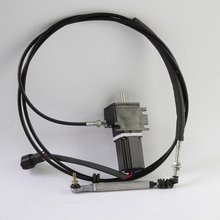 free shipping  Excavator Throttle Motor 22U-06-11790 For KOMATSU PC60-7 e325b e325l excavator throttle motor double cable