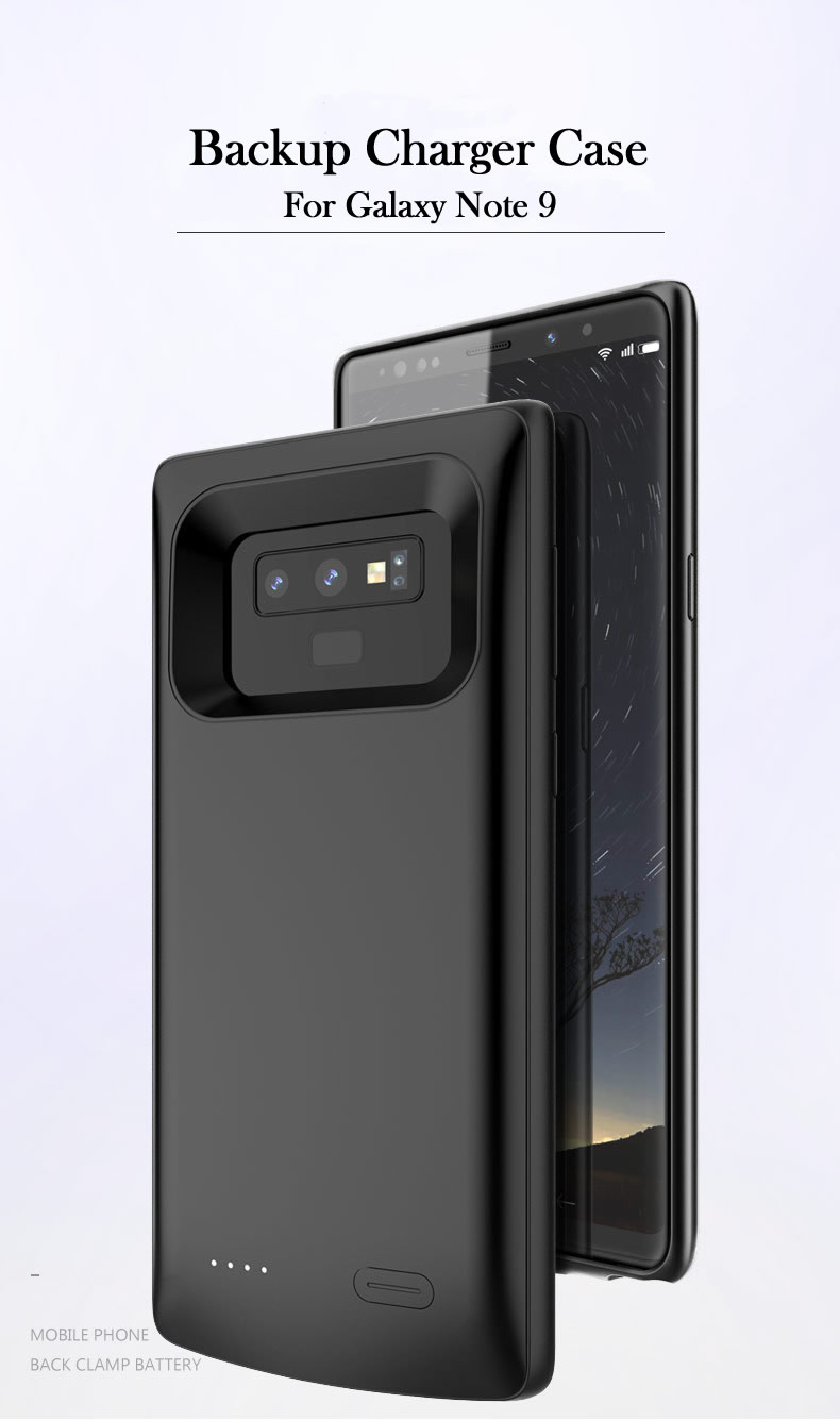 wholesale dealer e36f4 6c4c1 Ultra-Thin Anti Fall External Battery Case for Samsung Galaxy Note8 Note9  Back Cover