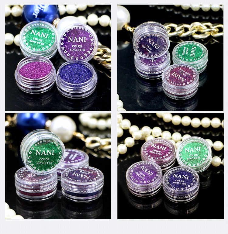 1 Kotak Asap Coklat 23 Warna Glitter Eyeshadow Bubuk Pigmen Mineral Spangle Halus Makeup Kosmetik Set Tahan Air Tahan Lama