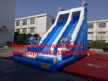 Factory direct inflatable castle slides large obstacles Animal  slide combination Dolphin KY-709