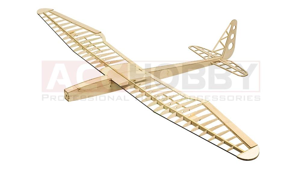 Sunbird Electric Glider Laser Cut Balsa Kit 1600mm Balsawood Airplane Model Building Toys RC Woodiness model /WOOD PLANE