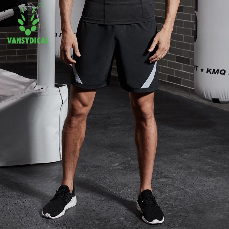 Vansydical 2019 Men Training Jogger Shorts Summer Running Workout Shorts Mens Crossfit Sport Gym Short