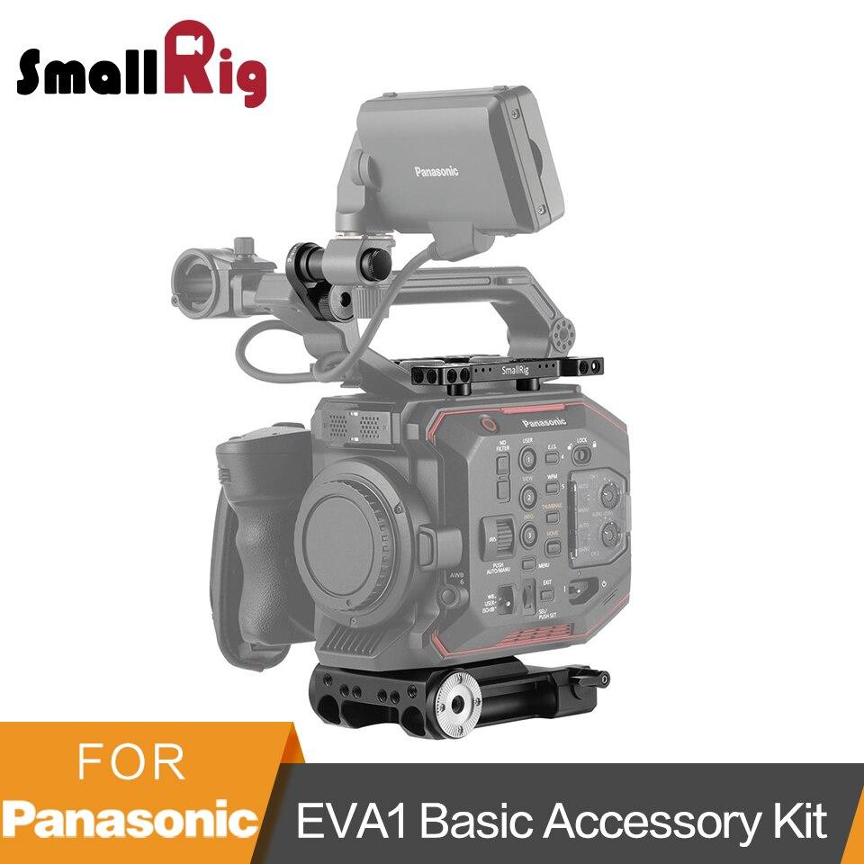 SmallRig Accessoires Kit pour Panasonic EVA1 De Base Kit De Montage (Embase + Plaque Supérieure + Écran De Montage Clamp Adaptateur) -2099
