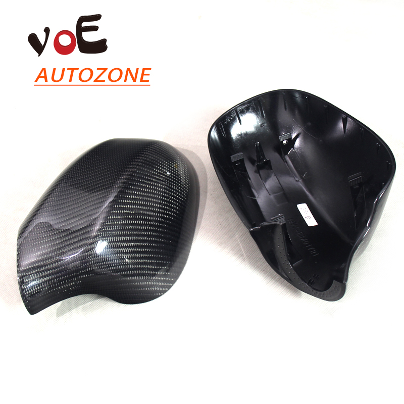 2009-2011 Carbon Fiber E90 Replace Design Rearview Mirror Covers, Side Mirror Caps for BMW E90 3 Series