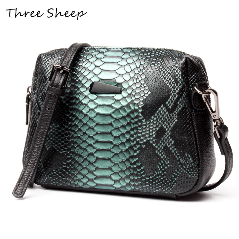 Genuine Leather Small Crossbody Bag For Women Crocodile Shell Bags High Quality Zipper Ladies Crossbody Bag Handbags feral cat women small shell bag pvc zipper single shoulder bag luxury quality ladies hand bags girls designer crossbody bag tas