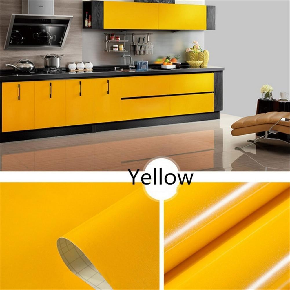 11 Colors Wall Stickers For Kitchen 60x100cm Waterproof Vinyl Decorative Self Adhesive Stickers Home Decor Accessories <font><b>S3</b></font> image