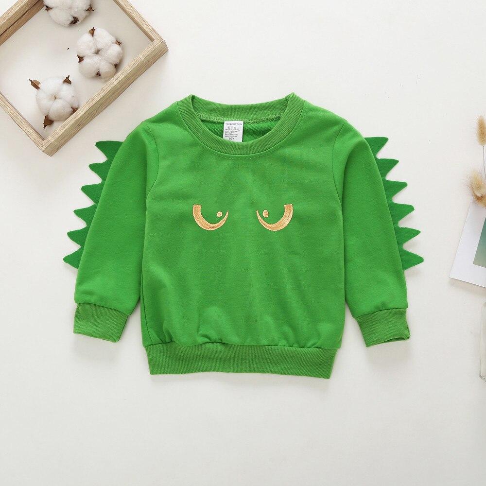 Sweatshirts Pullover Animal Long-Sleeves Baby-Boys-Girls Winter Child Cartoon Autumn