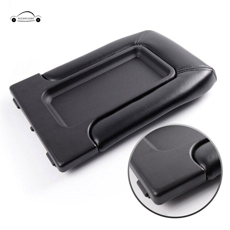 Car Armrest Cover Lip Center Console Arm Rest Cap For Chevrolet Chevy Silverado Suburban Tahoe GMC