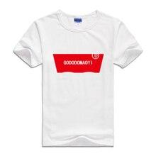 Dětské sportovní tričko s červeným motivem na hrudi