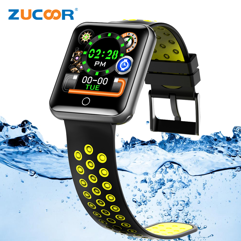 ZUCOOR Smart Bracelet Blood Pressure Monitor Cardiaco Smartband Pedometer Waterproof Band Pulse Tonometers Health Bangle for iOS m88 smart band blood pressure wrist watch pulse meter monitor cardiaco fitness tracker smartband for ios android bracelet