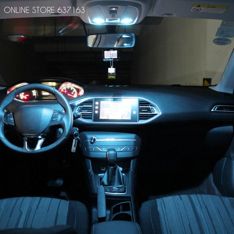 Auto interieur LED Verlichting lichtkoepel Leeslamp Voor Peugeot 206 ...