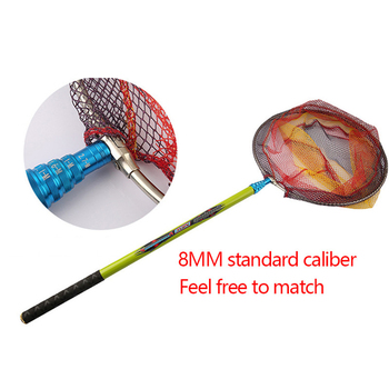 Awesome 2.4M Fishing Brail Net Rod Carbon Rod Fishing Net Fishing Accessories Product Type: Fishing Nets