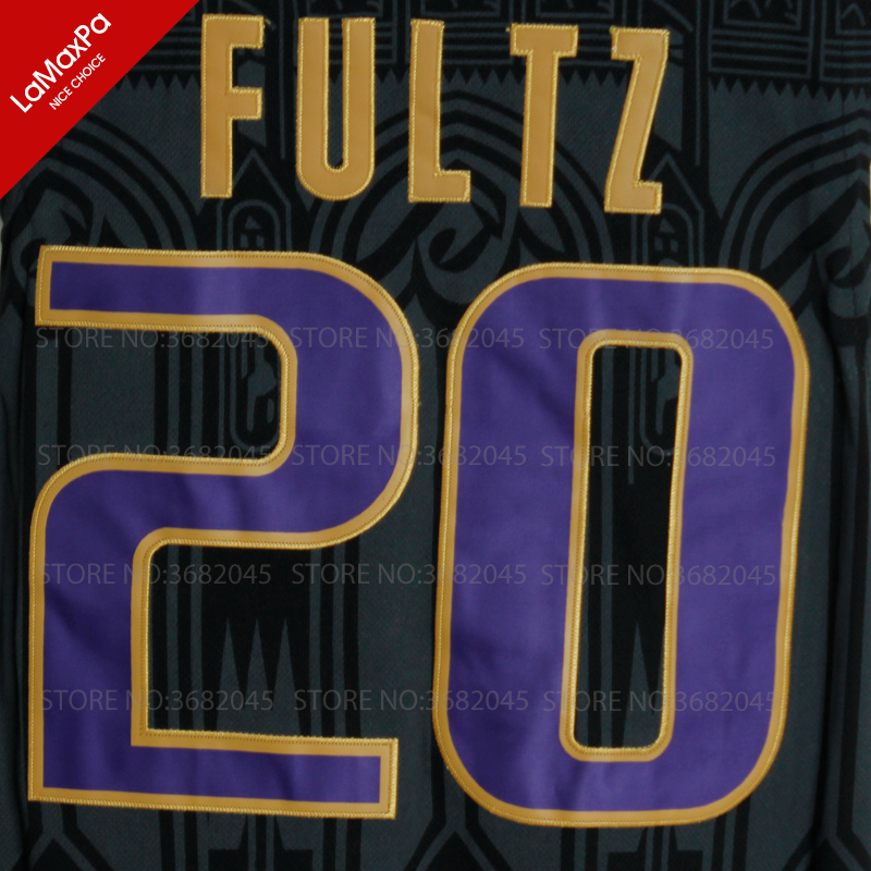 sports shoes 2c71e 040f6 2017 Draft Hot Markelle Fultz Basketball Jersey No. 20 DeMatha High School  Washington Huskies Throwback Sleeveless Black Jersey em Basquete Jerseys de  ...
