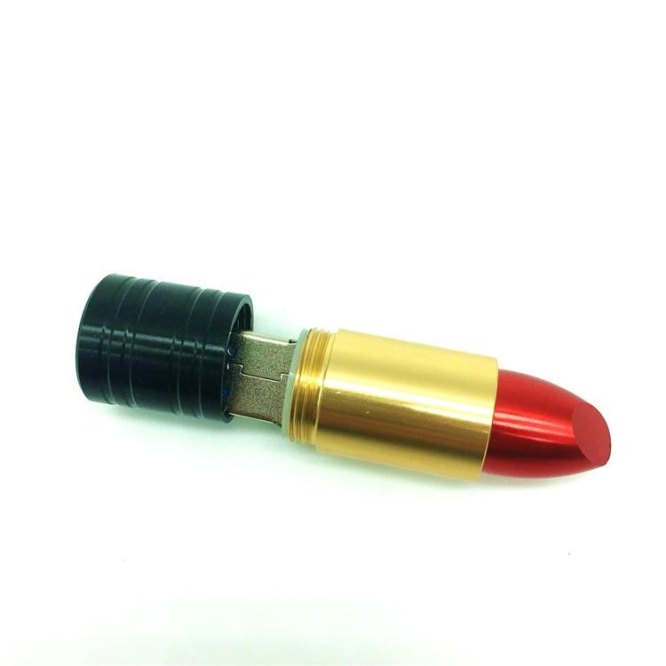 Nieuwe Lipstick Vorm USB Flash Drive Mode 4G 8 GB 16 GB 32 GB 64 - Externe opslag - Foto 5