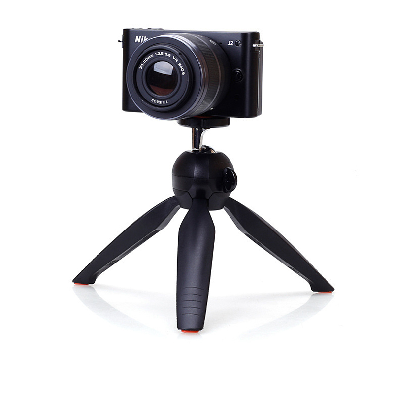 Silver Mini Tripod Stand for Camera Lens Digital Camera