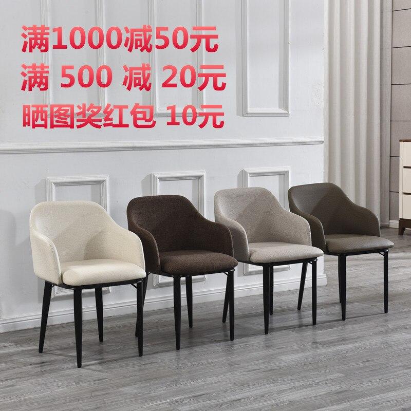 Silla nórdica moderna minimalista restaurante Silla de comedor casual  cafetería hogar venta oficina silla