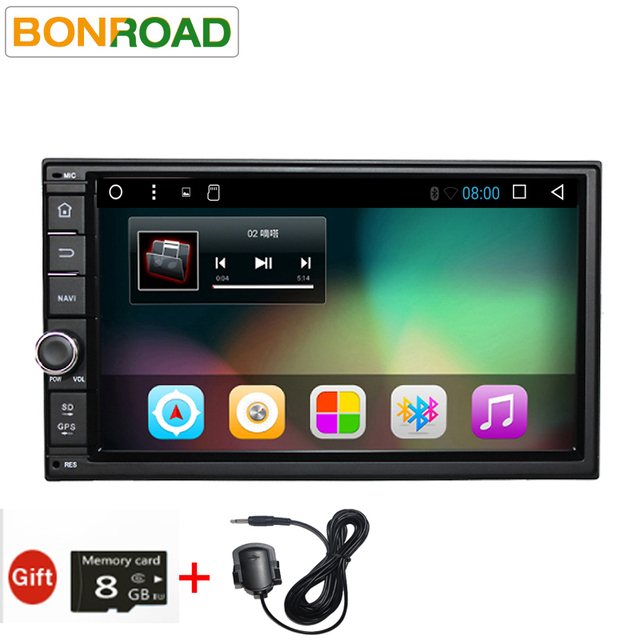 """Bonroad7""""2Din Android 6 Android 7 Car Multimedia Play Tap PC Tablet For Nissan GPS Navigation Radio Stereo Video Player(No DVD)"""