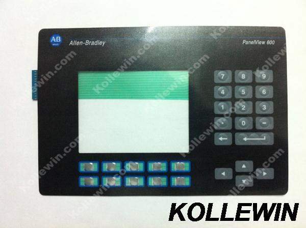 NEW membrane keypad for PanelView 600 2711-B6 2711-B6C1 2711-B6C2 2711-B6C3 2711-B6C5 2711-B6C8 2711-B6C9 freeship1year warranty 2711 tc4 2711tc4 series membrane keypad for allen bradley panelview 1200 micro series fast shipping