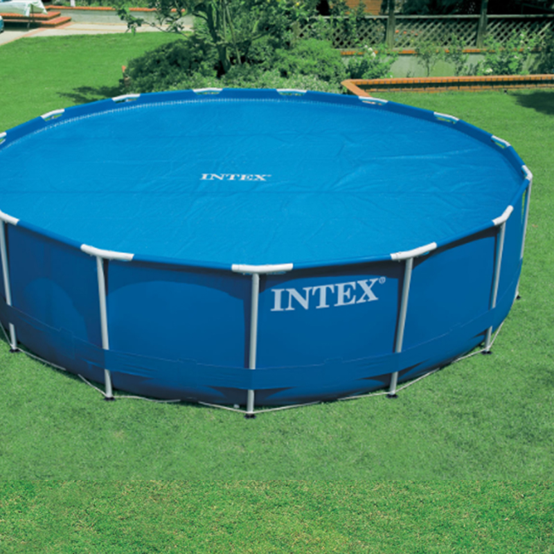 INTEX 366*76 cm Piscina Round Frame Swimming Pool Set Pipe Rack Pond ...