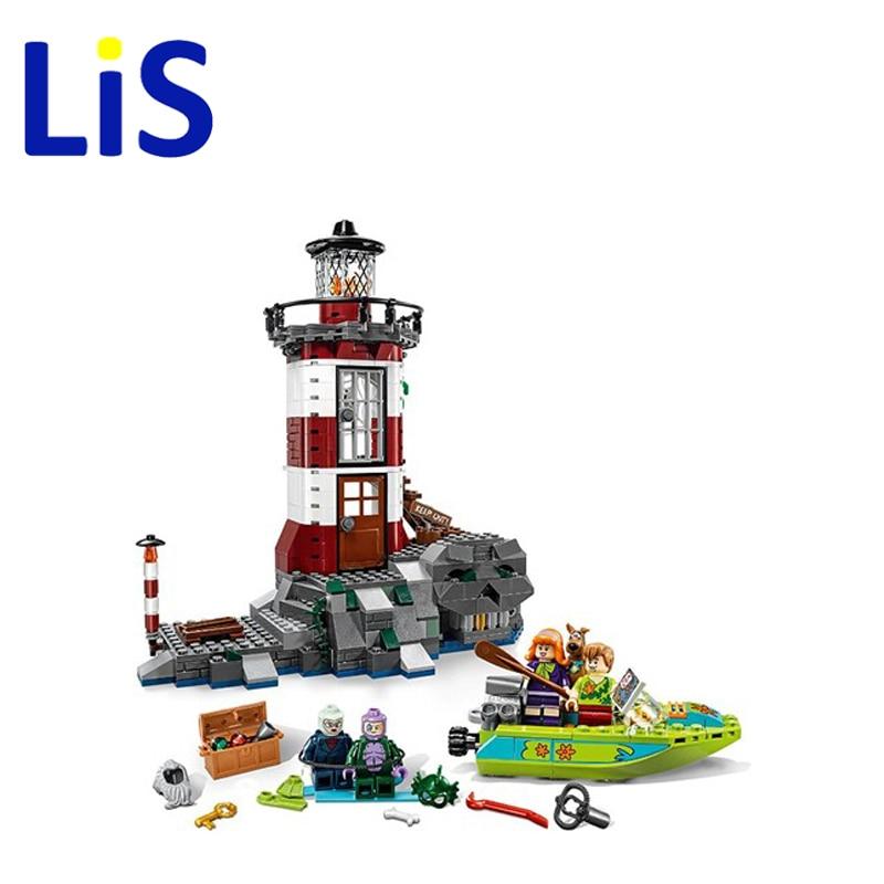 все цены на  Lis 2016 NUEVO Faro Bela 10431 Encantada de Scooby Doo Modelo Ladrillos Bloques 3D Regalos de Juguetes Ninos Lepin  онлайн