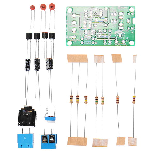 White Noise Signal Generator DIY Kit Electronic Kit 2-Channel Output for Burn-in Test Therapy on Insomnia Noise Generator ...