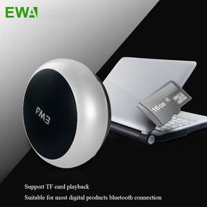 Image 4 - EWa A110 Altoparlante Portatile Per Il Telefono/Tablet/PC Mini Altoparlante Senza Fili del Bluetooth Metallic Ingresso USB MP3 Giocatore di Sport altoparlanti