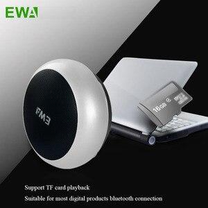 Image 4 - EWa A110 Portable Speaker For Phone/Tablet/PC Mini Wireless Bluetooth Speaker Metallic USB Input MP3 Player Sports Speakers