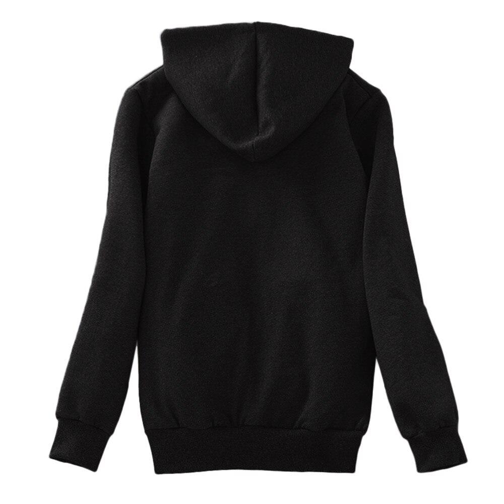 HTB1SFUFaeP2gK0jSZFoq6yuIVXas Women Basic Jackets Casual Winter Warm Female Long Sleeves Coats Autumn Lined Zip Up Hooded Sweatshirt Jacket Coat