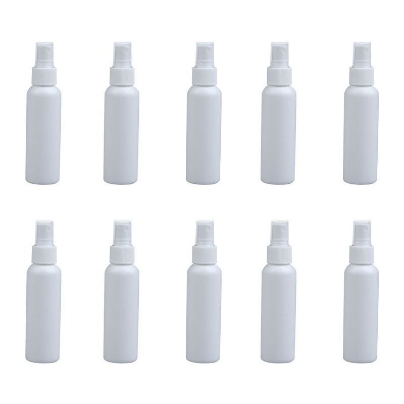 10Pcs 100ml Empty Perfume Cosmetic Atomizers Sprayer Plastic Spray Bottles HB88 50pcs plastic ldpe squeezable dropper bottles eye liquid empty new 88 hjl2017