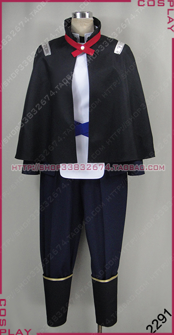 Utawarerumono Itsuwari no Kamen Ougi Halloween Suit Set Cosplay Costume