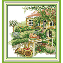 Everlasting love Green home Chinese cross stitch kits Ecological cotton stamped DIY 11CT 14CT New year gift decorations for