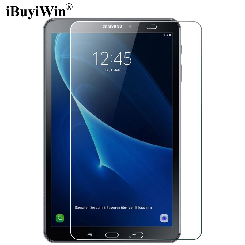 iBuyiWin 9H Tempered Glass for Samsung Galaxy Tab A 10.1 2016 T580 T585 Screen Protector Film for Samsung Galaxy Tab A6 SM-T580 стоимость