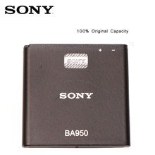 Original SONY Phone Battery For SONY Xperia ZR SO-04E M36h C5502 C5503 AB-0300 Replacement Batteries BA950 bateria(China)
