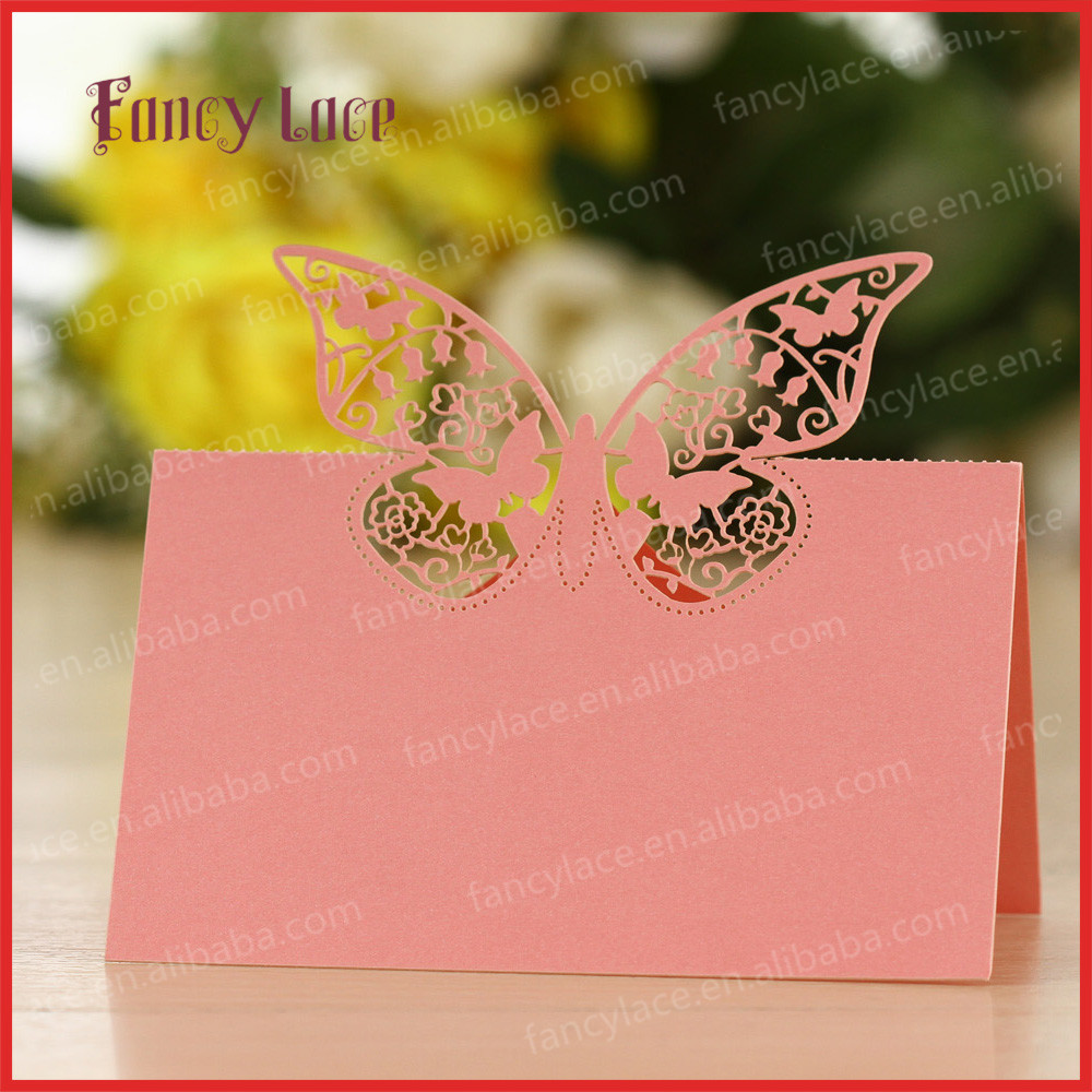 Aliexpress.com : Buy 50pcs/lot Laser Cut Butterfly Souvenirs ...