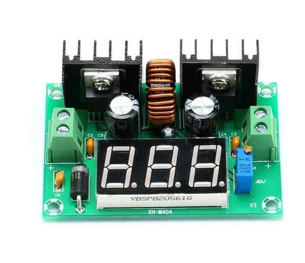 XL4016 LM317 LED Voltmetro Digitale Regolatore di Tensione Metro XL4016E1 DC-DC Buck Step Imbottiture Modulo 200W 8A PWM 4- 40V a 1.25-36V