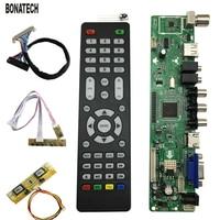 V59 Universal LCD TV Controller Driver Board PC VGA HDMI USB Interface Free Shipping