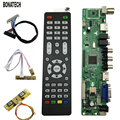 V56 Universele LCD TV Controller Driver Board PC/VGA/HDMI/USB Interface 4 Lamp Inverter  30pin 2ch-8bit Lvds-kabel  7 Keypad 560284