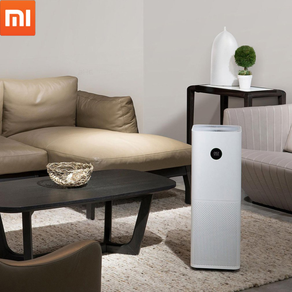 Xiaomi Mi Air Purifier Pro Air Cleaner Health Humidifier Smart OLED CADR 500m3/h 60m3 Smartphone APP Control Household original xiaomi mijia air purifier pro oled display screen laser particle sensor 500m3 h particulate matter cadr for 60m3
