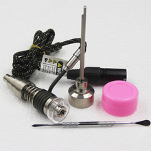 Newest Heater Coil E-Nail D-Nail Fit 6 in 1 Titanium Nail Highly Educated Hybrid Titanium/Quartz for Bong Christmas gift