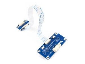 Image 5 - 7.5inch e Paper HAT (C) 640x384 E ink Display Module Three color SPI interface compatible with Raspberry Pi 3B/3B+/Zero/Zero W