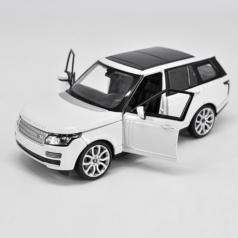 Die-cast Metal Vehicles 1:24 Car Models Coche mkd3 Scale Simulation Auto Toys for Children Sports Car rastar SUV Rover